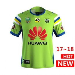 Wholesale Raiders Shirt L - nrl jersey CANBERRA RAIDER S 17 18 Home rugby Jerseys NRL National Rugby League rugby shirt Oakland canberra raider s shirts s-3xl
