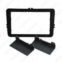 Wholesale Stereo Skoda Fabia - 30pcs Car DVD CD Radio Stereo Fascia Panel Frame Adaptor Fitting Kit For Skoda Fabia 2 Second generation(Typ 5J;