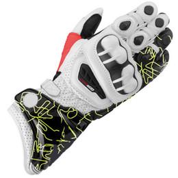 Спортивные перчатки кожаные онлайн-GP Pro мотоцикл перчатки KTM 4 цвета топ кожа мотокросс Moto Road Racing перчатки мотоцикл защиты