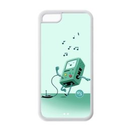Wholesale Beemo Case - Cute Cartoon Beemo Adventure Tim High Quality Protective Durable Back Case Cover Shel For iPhone 4 4s 5c 5 5S 6 6s Plus