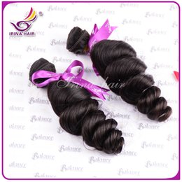 Wholesale Cheap Great Hair - One bundles 100 virgin brazilian hair loose wave wavy cheap hair pieces great remy hair supplier indian malaysia peruvian hair big curls