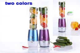 Wholesale Mini Blender Shake Take - New Shake n Take 2 Mini Blender Juicer Mixer Healthy Drink Smoothie Maker Ice Crusher With Logo Packing
