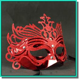 маскарадные короны Скидка 10 шт. много красочные Корона литья маска с отражателями для маскарад бесплатная доставка