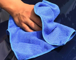 Wholesale Auto Washers - 2016 New hot 30*30CM Microfiber towel car cleaning cloth wash towel products dust tools car washer auto supplies car accessories