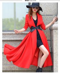 Wholesale Korean Womens Fashion L - New Long Trench Coats for Women 2015 korean coats fur coats womens winter coats for women long coats fashion trench coat