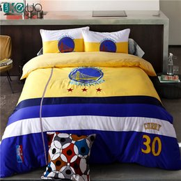 Wholesale Twin Football Comforter Set - KELUO Hot Sale !Football Bedding Sets Bed In A Bag with Duvet Cover Flat Sheet and Pillow Case Twin Queen Bed Embroider