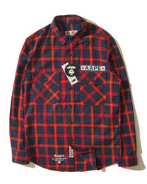 Wholesale Green Institute - European and American Institute of Ethnic style plaid shirt trend of foreign trade on the streets
