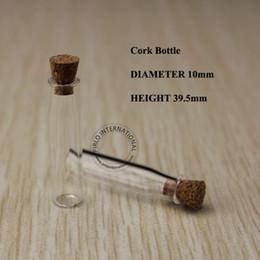 bouteille à bouchon de verre Promotion 20 pcs x 100% excellent 2 ml clair mini verre bouchon de liège bouchon, bouteilles de souhaits, conteneurs sisplay mignon livraison gratuite