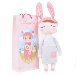 Shop easter gifts for baby girl uk easter gifts for baby girl 13 inch brinquedos plush cute stuffed bonecas baby kids toys for girls birthday christmas gift angela rabbit girl metoo doll negle Images