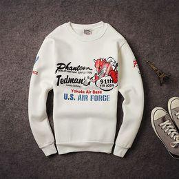Wholesale Play Guns - Japanese original wave of brand European and American street spoof lucky playing ghost gun harbor wind tide men sweater coat plus velvet mal