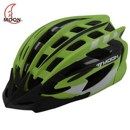 Wholesale Helmet Moon Bike - MOON 2015 New Cycling Helmet Carbon Bicycle Helmet Ultralight Integrally-molded Bike Helmet Road Mountain Helmet