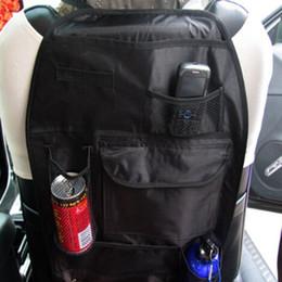 Fedex Dhl-freies Verschiffen Auto Auto Rücksitz Hanging Organizer Aufbewahrungstasche Becherhalter Multi Use Reise fall, 100 teile / los von Fabrikanten