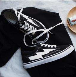 Wholesale Revenge Fashion - New Revenge x Storm Black Casual Shoes Kendall Jenner best Footwear Ian Connor Old Skool Fashion Current Shoes