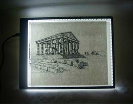 "Wholesale Light Box Tracing Table - 16.7"" Ultra-thin USB Power Tattoo LED Light Box Stencil Tracing Table Tracer LightPad Light Desk Lightbox Makes Tracing Easy"