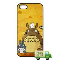 Wholesale Cute S4 Cases - Cute My Neighbor Totoro phone case for iPhone 4s 5s 5c 6 6s Plus ipod touch 4 5 6 Samsung Galaxy s2 s3 s4 s5 mini s6 edge plus Note 2 3 4 5