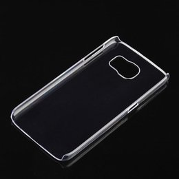 Wholesale Thin Shell - For iphone X 8 Transparent Crystal Clear PC Hard Plastic Shell Case Ultra thin Slim Cover Cases For Samsung Galaxy S8 S8 Plus iPhone 7 plus