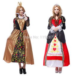 Wholesale Heart Costumes Adults - Shanghai Story New Arrival Ornate Peach Hearts princess costumes, women noble queen cosplay costumes, adult halloween costume for 155-175cm