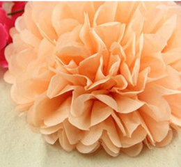 "Wholesale Tissue Paper Garland Wholesale - 18%OFF 15pcs Paper Bouquet Peony Wedding Supplies Paper Garland Wedding Decoration Birthday Supplies (3"" 4"" 5"") Tissue Paper Pom Poms"