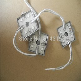 Wholesale Sales Sings - Wholesale-2015 rushed sales 1000PCS 12V DC 3528 SMD 4 LED Module Pure Warm  Cold White Waterproof Light logo sings ,ceiling backlights