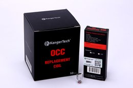 Wholesale Coil Head Only - Original KangerTech Replaceable Core Coil Head only Pro tank Glassomizer Coil Unit EVOD Protank 2 mini T3s Occ Coil Dual Coil units