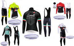 Wholesale Bike Cycling Clothing - 2018 Team TK cycling jersey sets Winter Thermal Fleece Tour de France Bisiklet wear bike maillot ropa ciclismo Bicycle MTB clothes