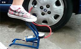 Мини мотоцикл насос велосипед баскетбол надувной насос давления в шинах автомобиля воздушный насос компрессор ножной насос Бесплатная доставка от