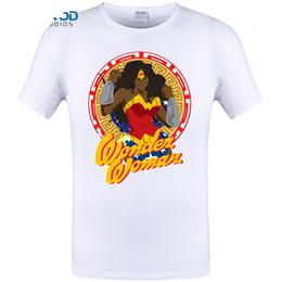 2018 Wonder Woman Printed T-Shirt Summer Fashion Shirts Women T Men Short  Sleeve Tee Tops Modal Cotton Tracksuit Clothes beb5560f187e