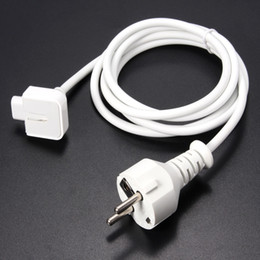 Wholesale Ac Power Cord Plug - EU PLUG Power Extension Cable Cord for Apple MacBook Pro Air AC Wall Charger Adapter New