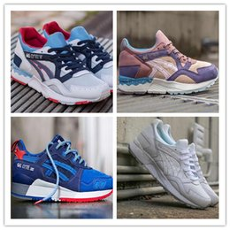 Wholesale Red Lighting Gels - 2016 Gel-Lyte V Men Shoes Running Shoes High Quality Cheap Training Lightweight Online Retro Basketball Shoes Size Eur 36-44