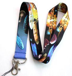 Wholesale Rope Neck Chains - New 40 pcs star trek Logo Lanyard Mobile phone hang rope chain keychains  Neck Strap Lanyard