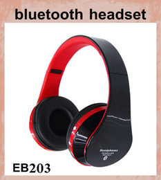 Wholesale Sms Audio Wireless Street - eb203 Audio Wireless Bluetooth Wireless SMS DJ Headphone SMS Audio Street Over Ear Headphone Headset SMS Audio vs 50 cent headset EAR033