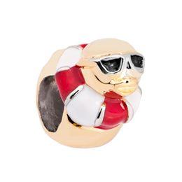 Wholesale Biagi Rings - 10 pcs per lot Swimming Turtle With goggles and ring bead European spacer charm fit Pandora Chamilia Biagi bracelet