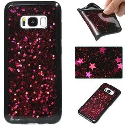 Wholesale Cellphone Star - Shiny Stars Cellphone Cases Soft Dirt Resistant TPU Covers For Iphone x 6s 7 8 Plus Samsung S8 Plus Note8 S7 Edge Retail Package