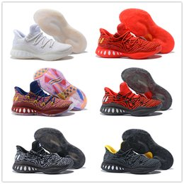 Wholesale Crazy Designs - 2016 Andrew Wiggins Crazy Explosive Boost Basketball Shoes J Wall 3 Boots Man Primeknit Design Crazy Explosive Low PE AW Crazylight Boost