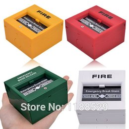 Wholesale fire alarms - Emergency Door Release Glass Break Alarm Button Fire alarm swtich