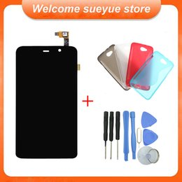 Wholesale Original Thl - Wholesale-Original Black W200 LCD Display And Touch Screen Assembly Digitizer For THL W200 W200C W200S Free Shipping + Tools + A Case