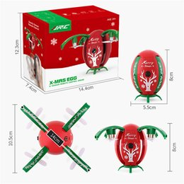 Wholesale Christmas Presents For Kids - JJRC H66 Christmas Egg WIFI FPV Selfie Drone Gravity Sensor Mode Altitude Hold RC QuadCopter RTF for Kids Christmas Gift Present DHL FEDEX