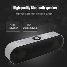 Wholesale Boombox Subwoofer - Mini NBY-18 Bluetooth Speaker 3D Surround Stereo Subwoofer HIFI Wireless Portable Speakers Boombox Bluetooth Music Receiver
