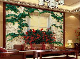 Wholesale Painting Interior Room - Custom photo wallpaper Large 3D sofa TV background wallpaper mural wall Interior painting 3d mural wallpaper 20156313