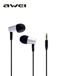 Wholesale Music Pads - Super bass In-Ear Earphone and headphones noise isolating headset For Mp3 Mp4 Pad Music Player Awei ES-Q7