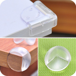Wholesale White Corner Table - 10Pcs Child Baby Safe Safety silicone Protector Table Corner Edge Protection Cover Children Edge & Corner Guards CYC1
