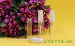 Bottiglie di profumo da 5 ml / 3 ml di massima qualità Flacone spray di profumo Flaconi di profumo di vetro Bottiglie di profumo reimballanti 1000 pezzi da desiderando il cuore della bottiglia fornitori