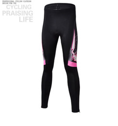 Wholesale Women Sale Sport Wear - Wholesale-Hot sale Women pink Bicycle cycle jersey (thermal)long sleeve cycling wear pants set Breathable outdoor cheap sports clothing