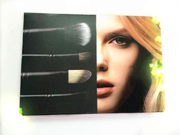 Wholesale 2015 Hot Sale Makeup Brush Look In A Box Advanced Brush Kit Special Edition Free DHL Shipping
