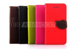 Wholesale Phone Z1 - For iPhone 6 4.7   Plus 5.5 inch Stand Wallet Style PU Leather Cases Photo Frame Phone Bag Cover With Card Holder For iphone6 4.7'' 5.5'' Z1