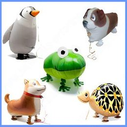 Wholesale Fly Pets - flying Aluminum balloons toy inflatable ball animal foil balloon pet ballon freeshipping