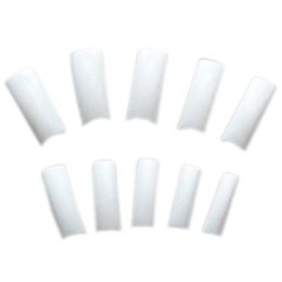 Wholesale Square Tip Acrylic Nails - Wholesale-JFYB New Practical Beautiful 500 White Square French Acrylic False Tips Nail Art