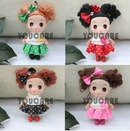 Wholesale Ddung 9cm - 9cm 4' inch tall Confused doll, doll for girls, new year gift, mini ddung ddgirl,4 pcs   lot set different dolls, free shipping