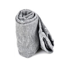 Wholesale Long Arm Gloves Ladies - Wholesale-HOT SALE!Lady Stretchy Soft Arm Warmer Long Sleeve Fingerless Gloves - Gray
