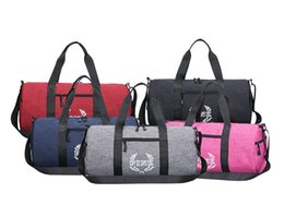 Wholesale Backpack Duffle - Love Pink Letter Women Travel Duffle Bags Ladies Girls Large Capacity Sports Gym Travel Waterproof Handbag Beach Shoulder Hand Bags